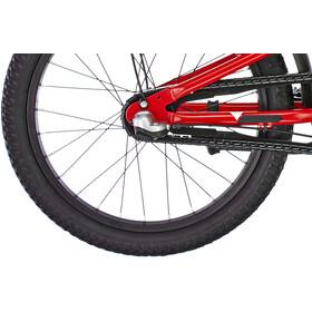 s'cool XXlite 18 3-S alloy Kids, red/black matt